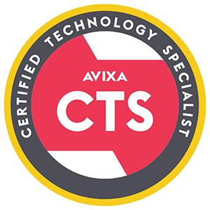 Avixa CTS Certified Technology Specialist